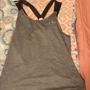 Under armor workout top